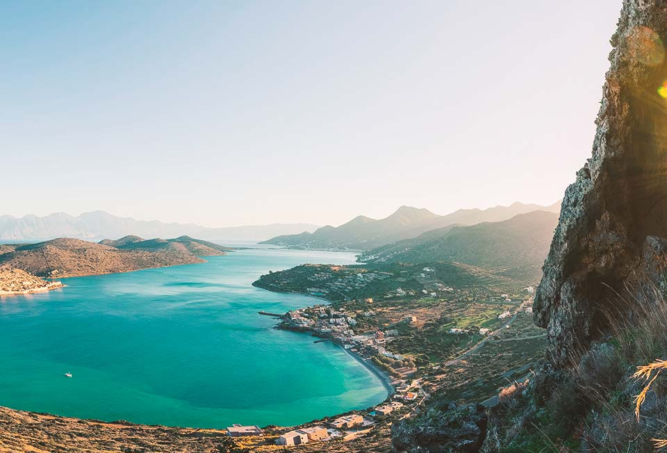 The island of Crete